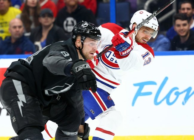 Montreal Canadiens vs. Tampa Bay Lightning - 1/2/20 NHL Pick, Odds & Prediction