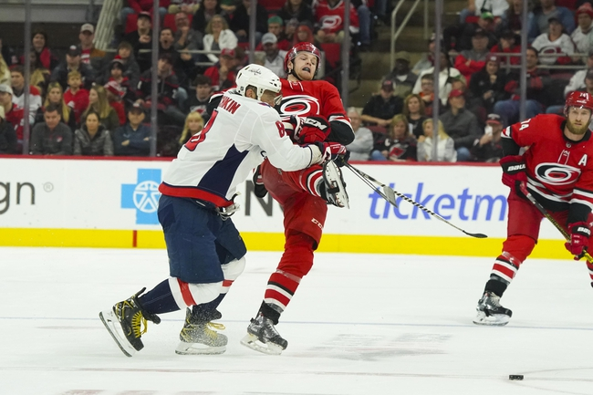 Carolina Hurricanes vs. Washington Capitals - 1/3/20 NHL Pick, Odds, and Prediction