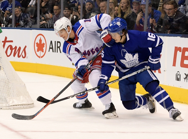 New York Rangers vs. Toronto Maple Leafs - 2/5/20 NHL Pick, Odds, and Prediction