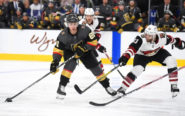 Arizona Coyotes at Vegas Golden Knights - 7/30/20 NHL Pick and Prediction