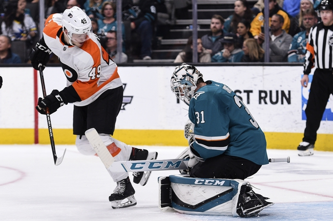 Philadelphia Flyers vs. San Jose Sharks - 2/25/20 NHL Pick, Odds, and Prediction