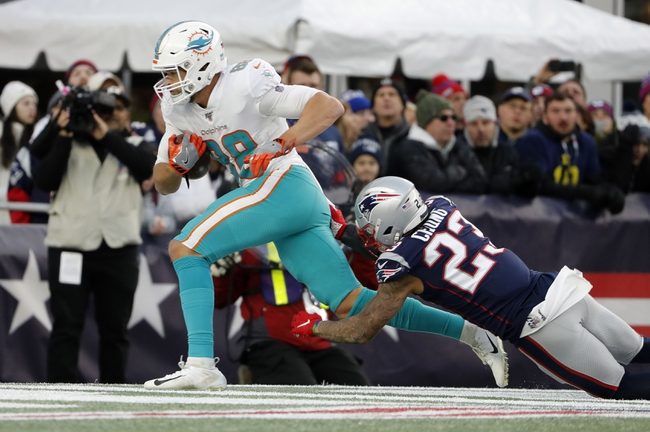 Miami Dolphins at New England Patriots - 9/13/20 NFL Picks and Prediction