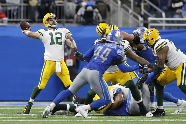 Detroit Lions vs. Green Bay Packers - 4/17/20 Madden20 NFL Sim Pick, Odds, and Prediction