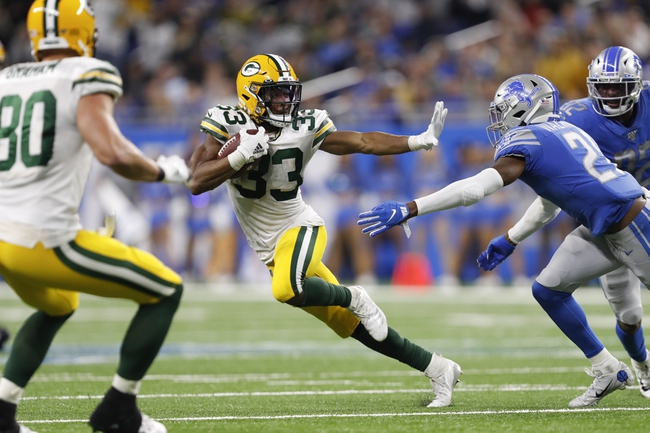 Detroit Lions at Green Bay Packers - 9/20/20 NFL Pick, Odds, and Prediction