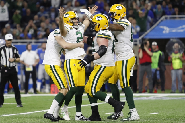 Detroit Lions at Green Bay Packers - 9/20/20 NFL Picks and Prediction