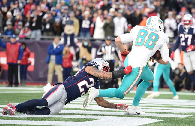 New England Patriots vs. Miami Dolphins - 9/13/20 NFL Pick, Odds, and Prediction