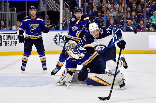 Winnipeg Jets vs. St. Louis Blues - 2/1/20 NHL Pick, Odds, and Prediction