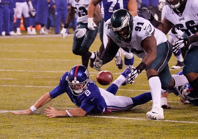 Philadelphia Eagles vs. New York Giants - 5/12/20 Madden 20 Sim Classic NFL Pick, Odds, and Prediction