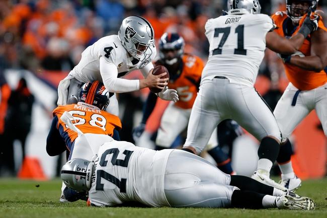 Denver Broncos vs. Oakland Raiders - 4/23/20 Madden20 NFL Sim Pick, Odds, and Prediction