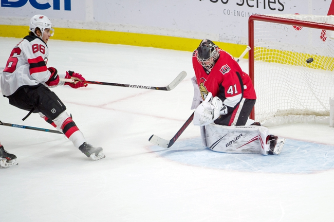 Ottawa Senators vs. New Jersey Devils - 1/27/20 NHL Pick, Odds, and Prediction