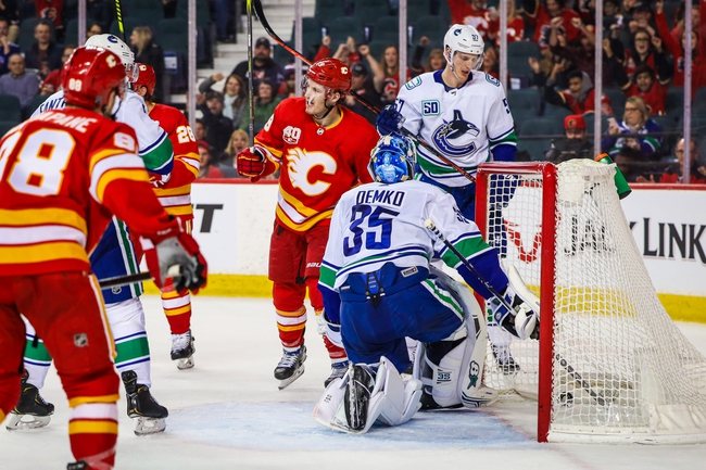 Vancouver Canucks vs. Calgary Flames - 2/8/20 NHL Pick, Odds, and Prediction