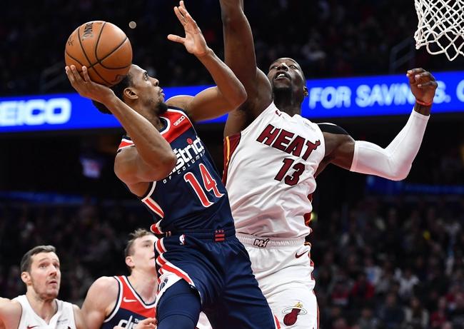 Miami Heat vs. Washington Wizards - 1/22/20 NBA Pick, Odds & Prediction