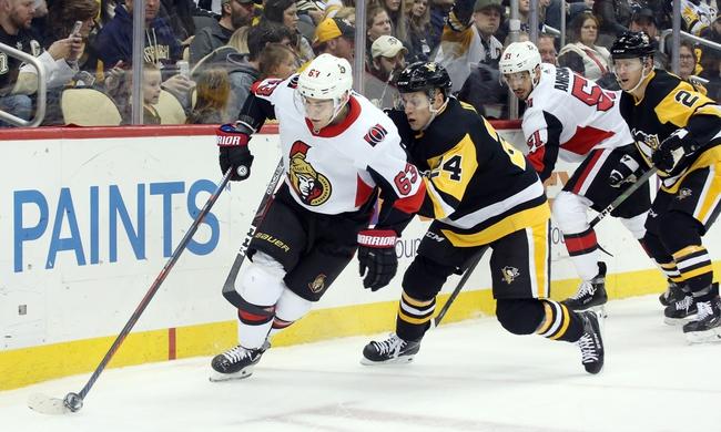 Pittsburgh Penguins vs. Ottawa Senators - 3/3/20 NHL Pick, Odds, and Prediction