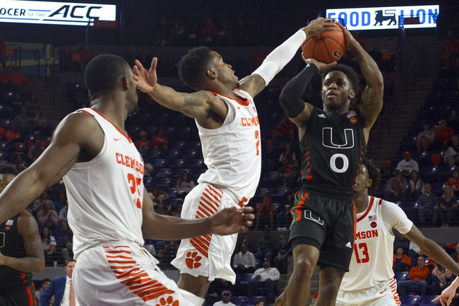 Miami at Clemson - 3/11/20 College Basketball Picks and Prediction