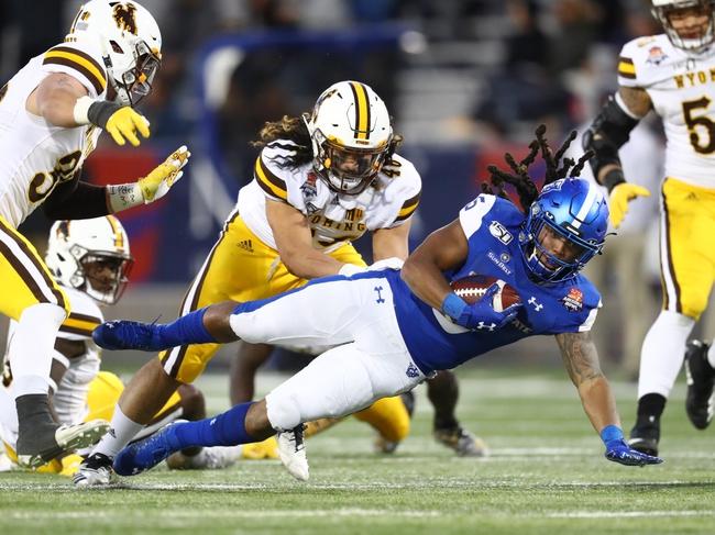 Wyoming at Nevada - 10/24/20 College Football Picks and Prediction