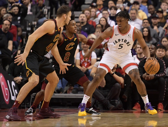 Cleveland Cavaliers vs. Toronto Raptors - 1/30/20 NBA Pick, Odds & Prediction