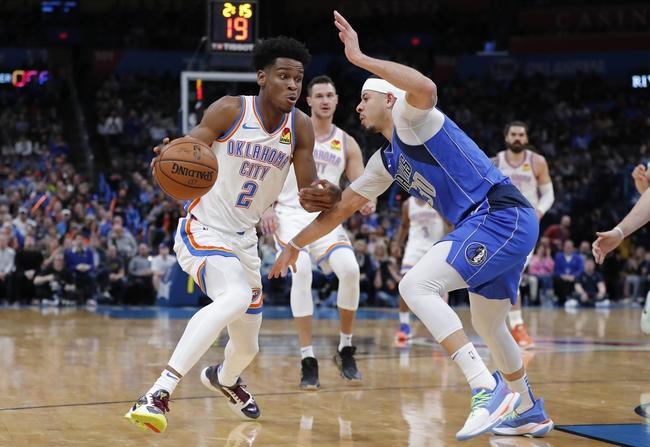 Oklahoma City Thunder vs. Dallas Mavericks - 1/27/20 NBA Pick, Odds & Prediction