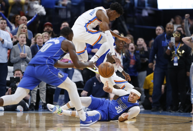 Oklahoma City Thunder vs. Dallas Mavericks - 1/27/20 NBA Pick, Odds, and Prediction
