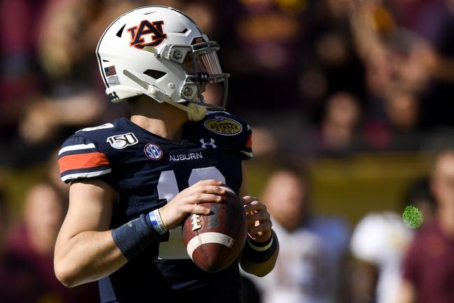 SEC: Auburn at Georgia 10/3/20 College Football Picks and Predictions
