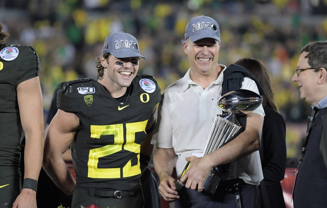 Stanford at Oregon 11/7/20 College Football Picks and Predictions