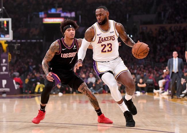 Los Angeles Lakers vs. Phoenix Suns - 2/10/20 NBA Pick, Odds, and Prediction