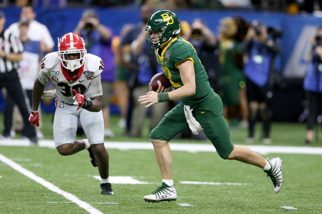 Baylor Bears 2020 Win Total - College Football Pick, Odds, and Prediction