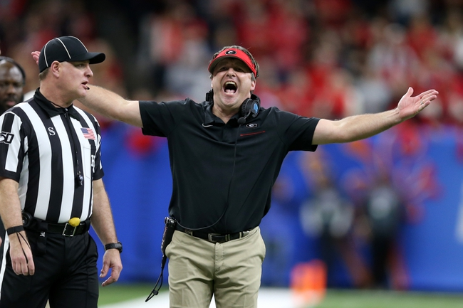 Georgia Bulldogs 2020 Win Total - College Football Pick, Odds and Prediction