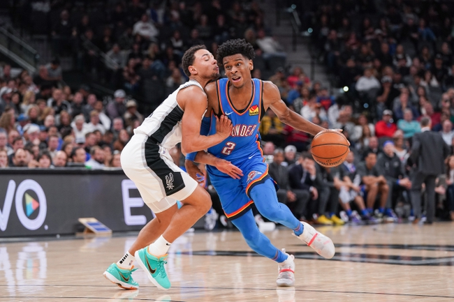Oklahoma City Thunder vs. San Antonio Spurs - 2/11/20 NBA Pick, Odds & Prediction