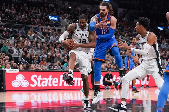 Oklahoma City Thunder vs. San Antonio Spurs - 2/11/20 NBA Pick, Odds, and Prediction