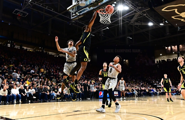 Oregon vs. Colorado - 2/13/20 College Basketball Pick, Odds, and Prediction