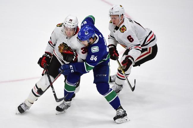 Vancouver Canucks vs. Chicago Blackhawks - 2/12/20 NHL Pick, Odds, and Prediction