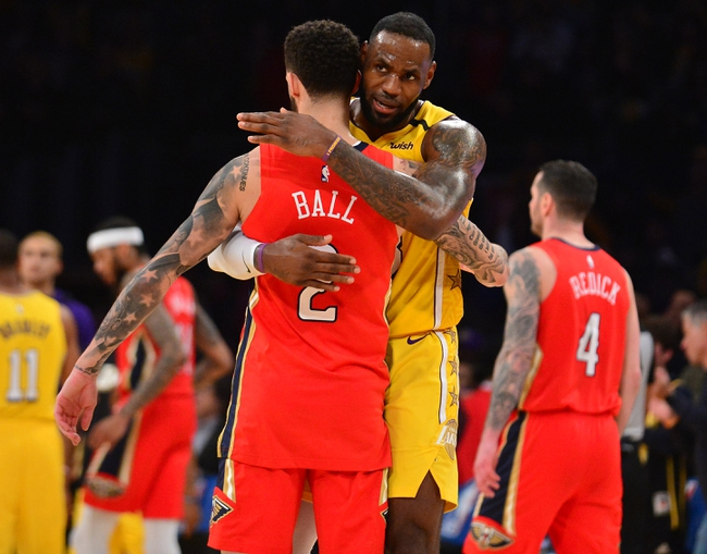 Los Angeles Lakers vs. New Orleans Pelicans - 2/25/20 NBA Pick, Odds, and Prediction