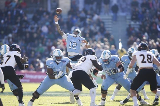 Navy at Tulane - 9/19/20 College Football Picks and Prediction