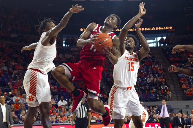 North Carolina State vs. Clemson - 1/18/20 College Basketball Pick, Odds, and Prediction
