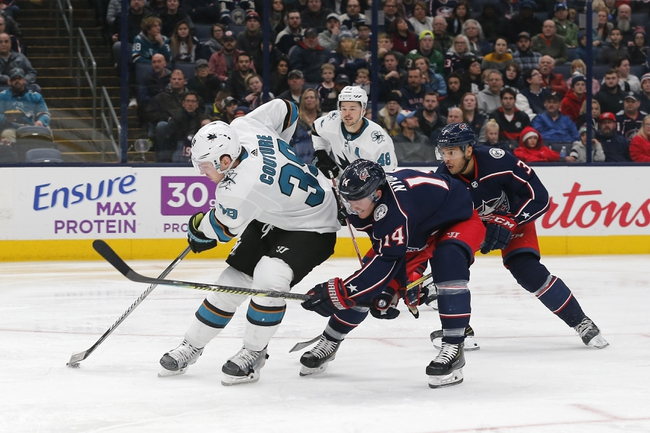 San Jose Sharks vs. Columbus Blue Jackets - 1/9/20 NHL Pick, Odds & Prediction