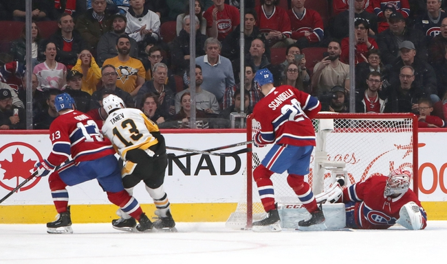 Pittsburgh Penguins vs. Montreal Canadiens - 2/14/20 NHL Pick, Odds, and Prediction