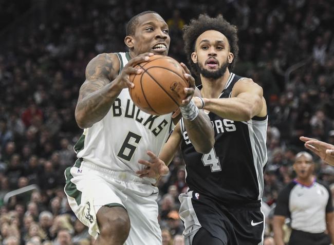 San Antonio Spurs vs. Milwaukee Bucks - 1/6/20 NBA Pick, Odds & Prediction