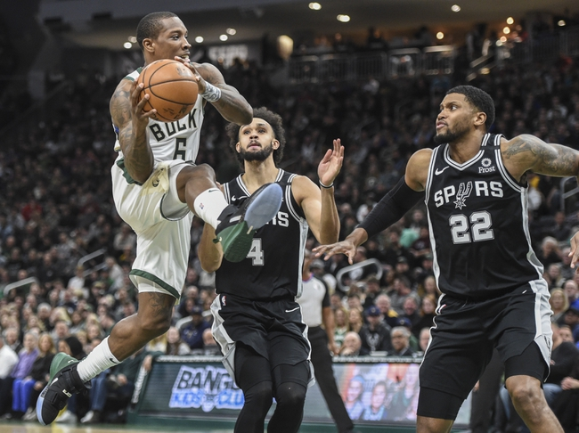 San Antonio Spurs vs. Milwaukee Bucks - 1/6/20 NBA Pick, Odds, and Prediction