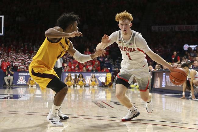 Arizona State vs. Arizona - 1/25/20 College Basketball Pick, Odds, and Prediction