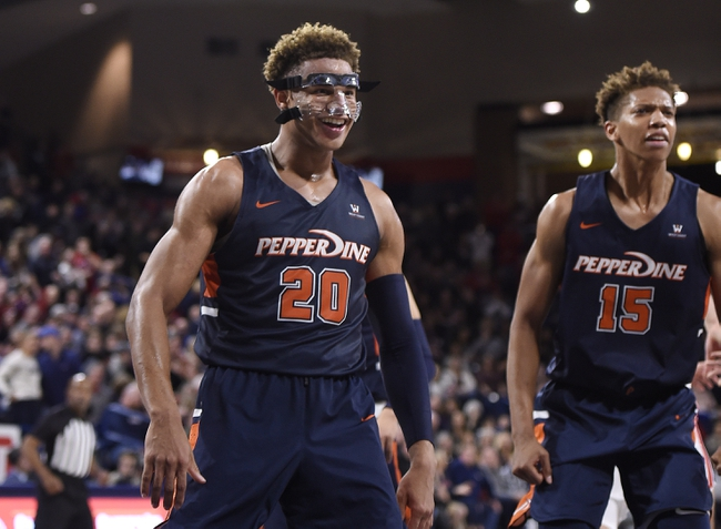 BYU vs. Pepperdine - 1/30/20 College Basketball Pick, Odds, and Prediction