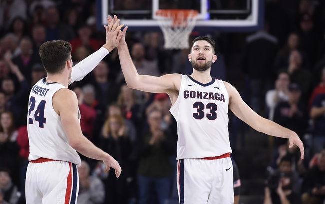 Pepperdine vs. Gonzaga - 2/15/20 College Basketball Pick, Odds & Prediction