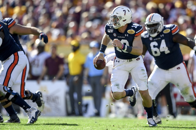 North Carolina vs. Auburn - 9/12/20 Early Look College Football GOY Pick, Odds, and Prediction