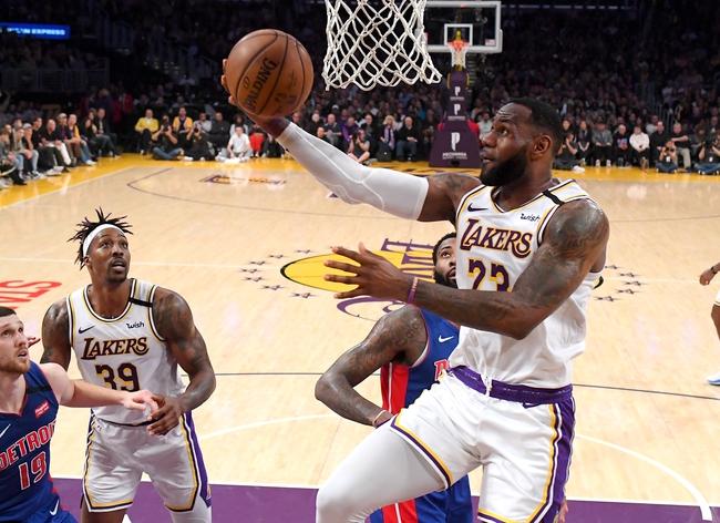 Los Angeles Lakers vs. New York Knicks - 1/7/20 NBA Pick, Odds & Prediction