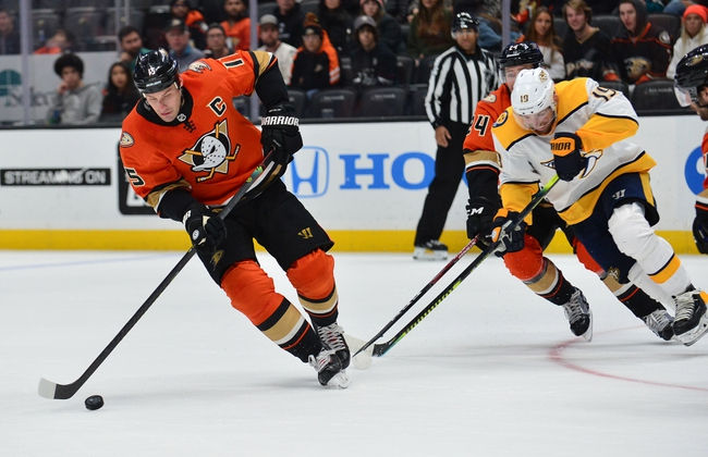 Nashville Predators vs. Anaheim Ducks - 1/16/20 NHL Pick, Odds & Prediction