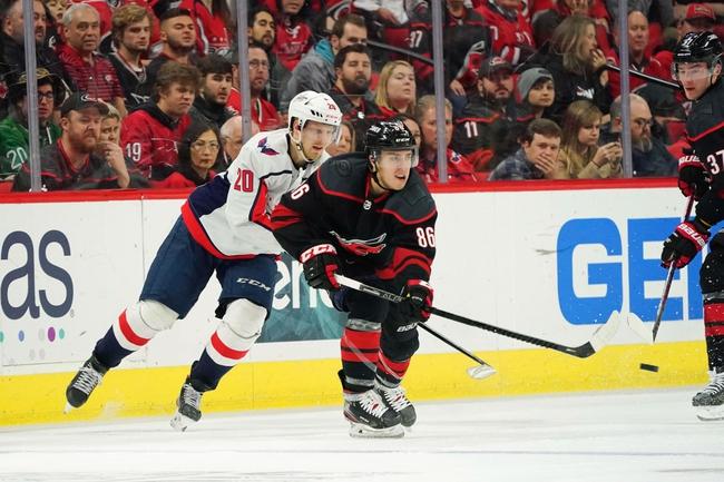 Washington Capitals vs. Carolina Hurricanes - 1/13/20 NHL Pick, Odds & Prediction