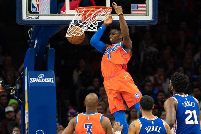 Philadelphia 76ers vs. Oklahoma City Thunder - 7/26/20 NBA Pick, Odds, and Prediction