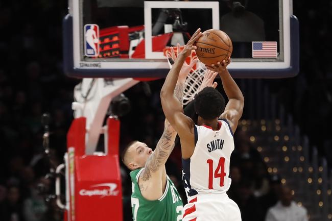 Washington Wizards at Boston Celtics - 8/13/20 NBA Picks and Prediction