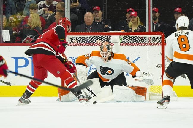 Philadelphia Flyers vs. Carolina Hurricanes - 3/5/20 NHL Pick, Odds, and Prediction