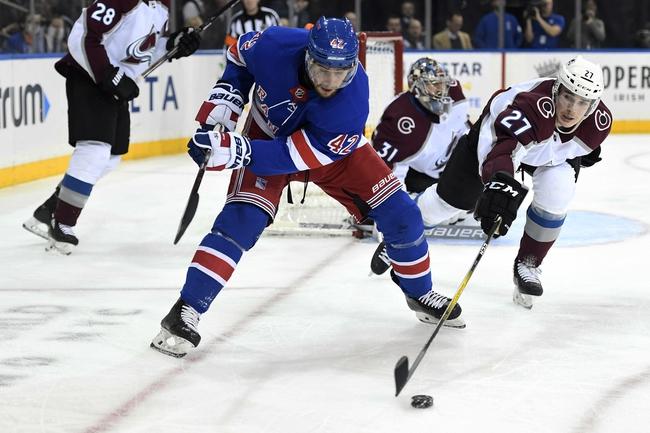 New York Rangers at Colorado Avalanche - 3/11/20 NHL Picks and Prediction