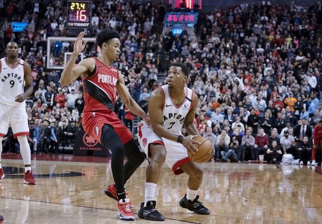 Toronto Raptors vs. Portland Trail Blazers - 7/26/20 NBA Pick, Odds, and Predictionando